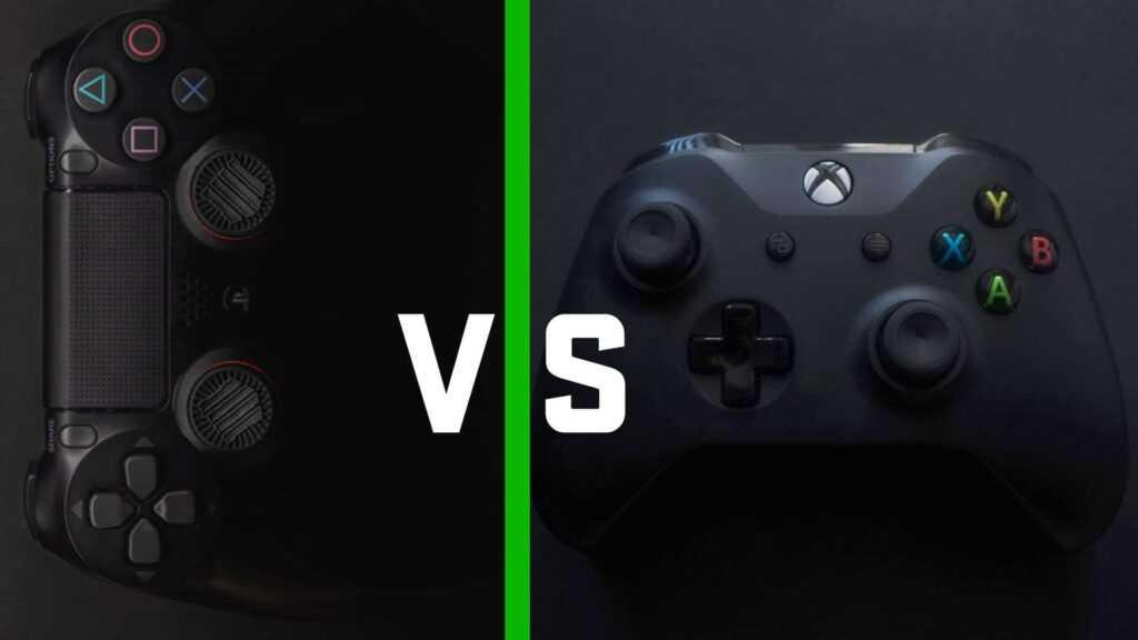 PS4 Controller vs Xbox Controller