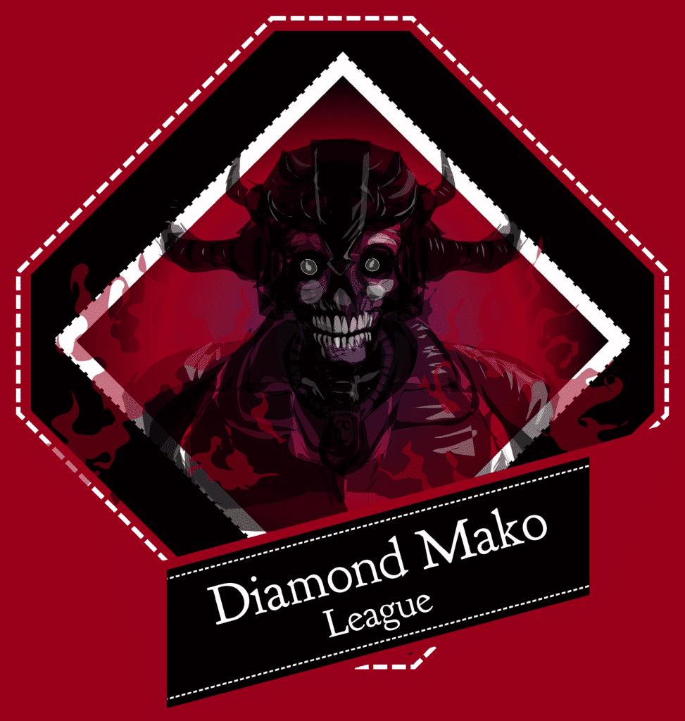 Diamond Mako League Badge